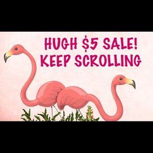 ⬇️ $5 & $4 SALES!